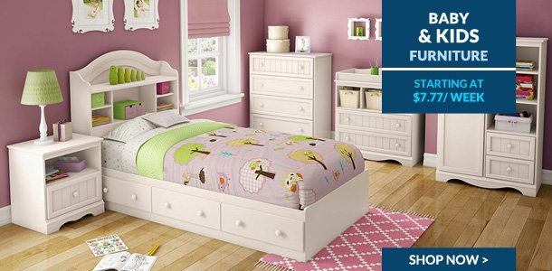 Progressive leasing baby and kids furniture