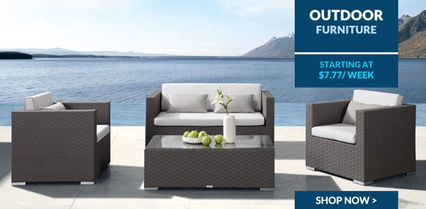 Progressive leasing outdoor furniture